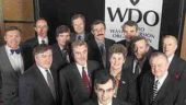 WDO Board of DirectorsFront and centre: Tony Clement, former Minister of Environment (now Dan Newman, see announcement on page 32)Middle row: Damian Bassett (Corporations Supporting Recycling), Peter Elwood (Lipton), Joan King (City of Toronto), Anthony Eames (Coca-Cola Ltd.) and Andy Brandt (Liquor Control Board of Ontario). Back row: John Honderich (Toronto Star Newspapers), John Hanson (Recycling Council of Ontario), Peter Partington (Regional Municipality of Niagara), John Jardine (City of London), Terry Cassidy (City of Quinte West), William Apted (Crown Cork & Seal Canada Inc.) and Ron Hoare (Para Paints). Absent: William McEwan (The Great Atlantic & Pacific Company of Canada Limited)